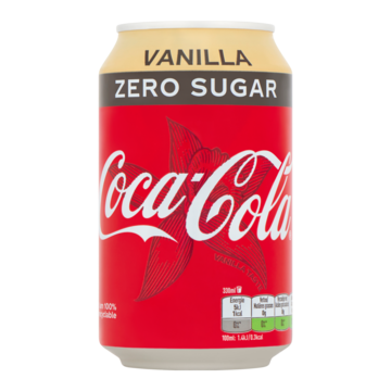 Coca-Cola Zero Sugar Vanilla 330ml