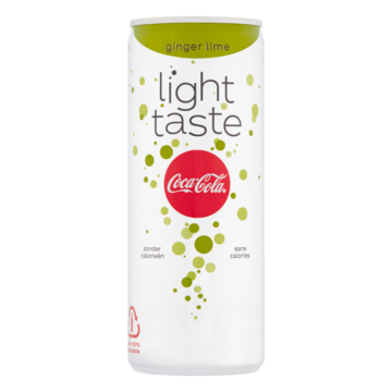 Coca-Cola Light Taste Ginger Lime 250ml