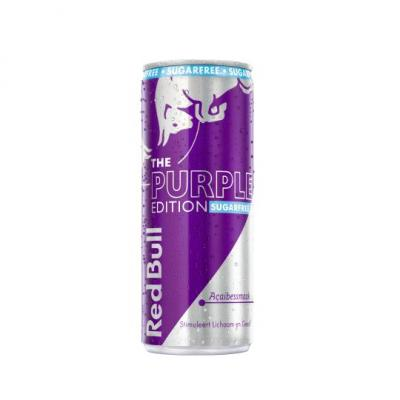Red Bull Sugerfree purple edition