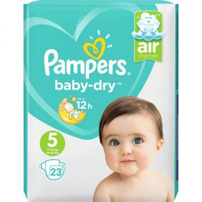 Pampers Baby dry mt 5 carrypack