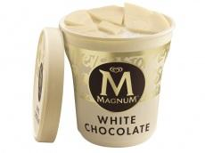 Magnum Pint IJs White Chocolate