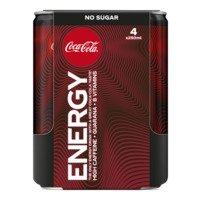 Coca-Cola Energy no sugar 4-pack